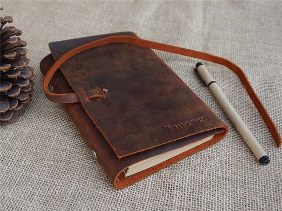 cb61b68f02a4 Leather bound notebook leather bound journal personalized leather journal  refillable leather journal mens leather journal free stamp