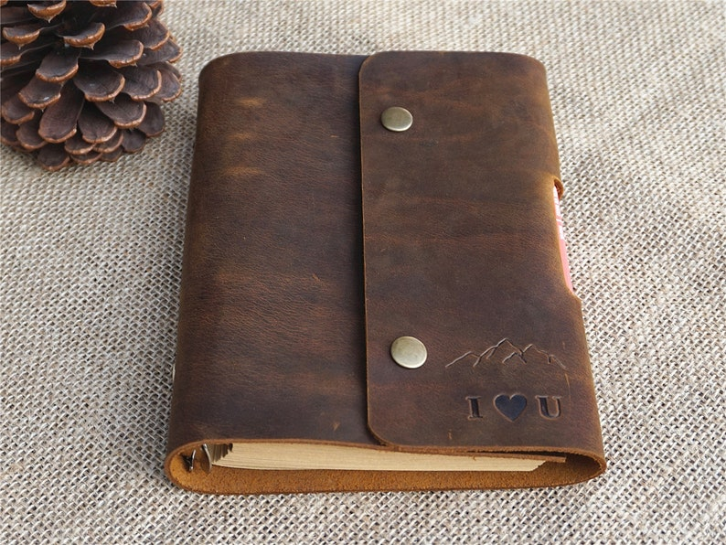 c65556ff52bc Leather bound notebook leather bound journal personalized leather journal  refillable leather journal mens leather journal line paper journal