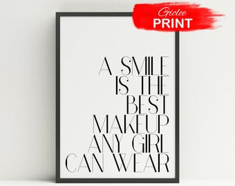 Smile Is Best Makeup Etsy