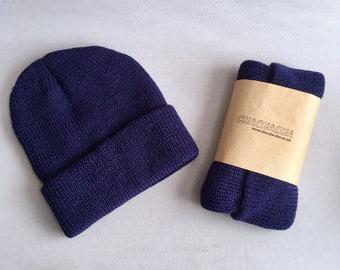 Comfortable Skiing Cap Unisex Retro Style Cambodia Silhouette Knit Cap