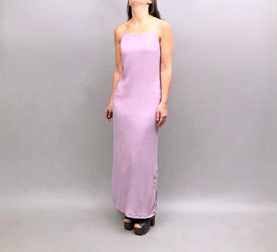 1990s Biba original lilac crepe slip dress Biba ma