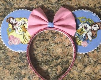 Belle Minnie Ears, Beauty and the Beast Mickey Ears