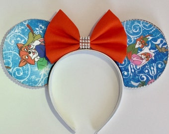 Limited Edition Robin Hood Minnie Ears, Robin Hood Mickey Ears, Robin Hood Mouse Ears