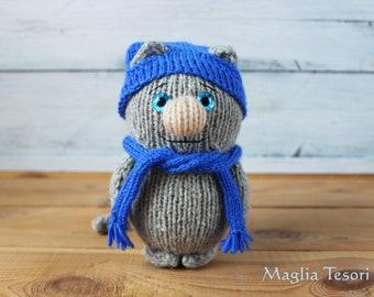 d816ada4a Stuffed animal cat | Etsy