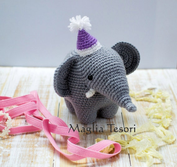 Amigurumi Elefant Häkeln Elefanten Spielzeug Etsy