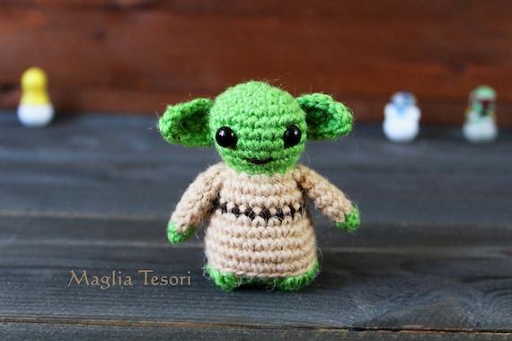 Amigurumi Meister Yoda Meister Yoda Häkeln Spielzeug Star Etsy
