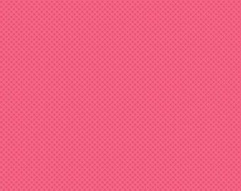Kisses by Riley Blake's raspberry tone on tone 100% cotton fabric