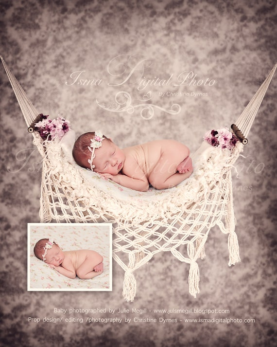 Newborn Sled  Digital Photography Prop File #38 Instant Download