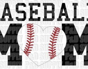 Baseball Mom svg, eps, pdf, dxf, jpg, png, .studio3 - Digital Cut file for Cricut or Silhouette R2