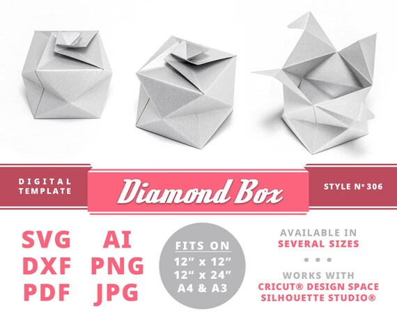Printable Square Box Template | 456x570
