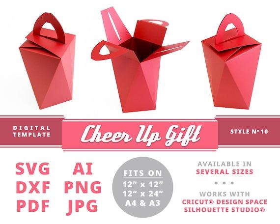 Origami Gift Box - Page 1 - Paper Kawaii | 456x570