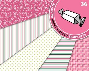 CANDY BonBon Gift Favor Box Svg Pdf Download Diy Pdf Personalized Favors Printable Gift Box Template 21st Birthday Gift Diy