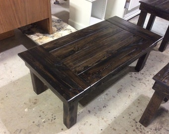 Rustic, Reclaimed Wood Coffee And End Tables