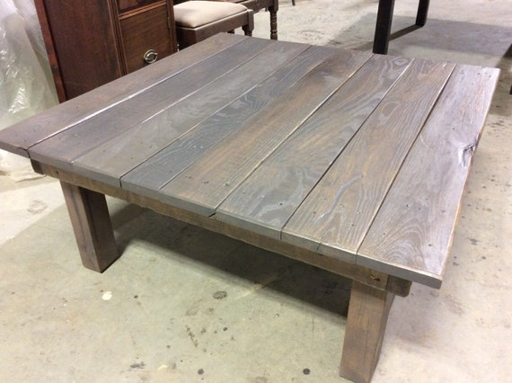 Custom Build Reclaimed Wood Coffee Table