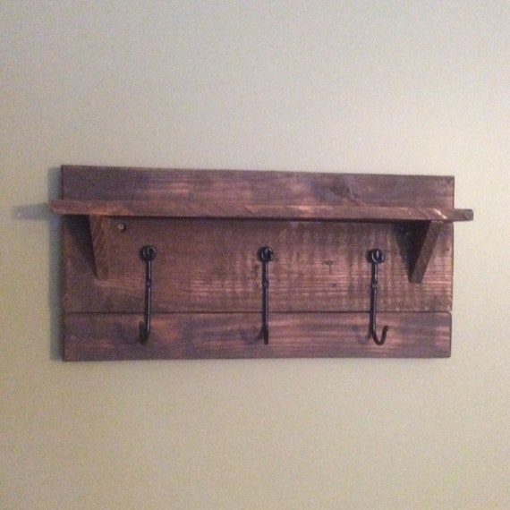 Coat Hook Shelf
