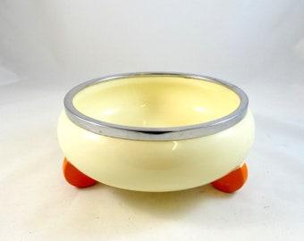 30s Sculptural de Stjil ceramic bowl bauhaus made by wmf art deco 1930