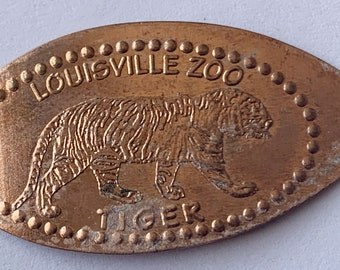 Komodo Dragon  Zoo Atlanta elongated penny keepsake penny Squished penny Atlanta Georgia keepsake coin HT9397