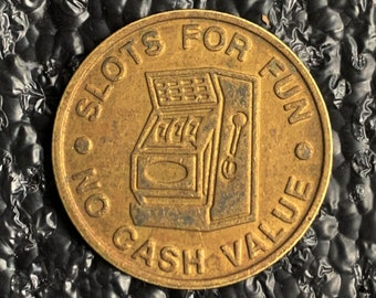 Fannini Slots Token Mohave Valley Arizona T640