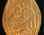 Holiday World and I took the Voyage Santa Claus Indiana elongated penny souvenir penny Squished Penny Rolled Penny lucky penny HT3318