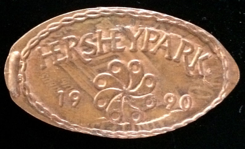 Hershey Park Pressed Penny