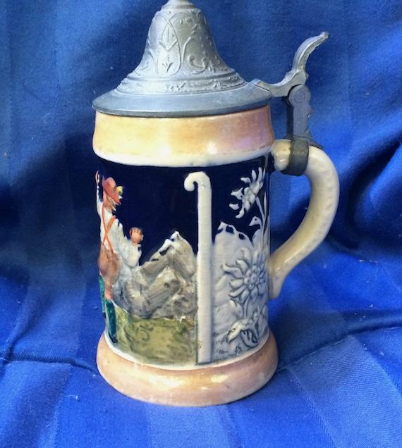 Vintage Small German Beer Stein