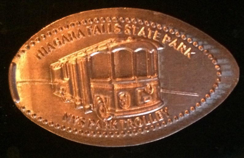 Niagara Falls Trolley Pressed Penny