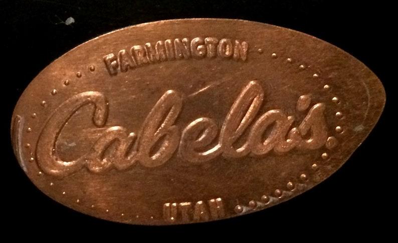 Cabela's Logo Pressed Penny