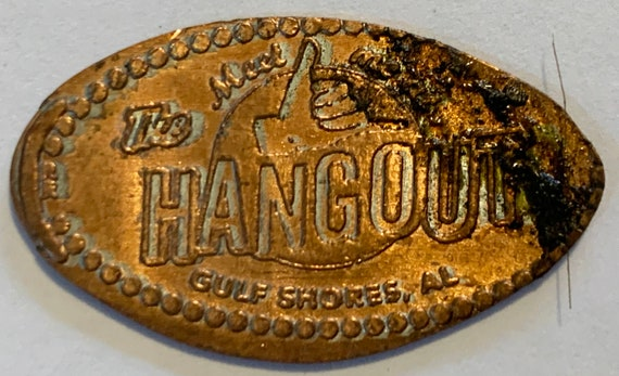 The Hangout Gulf Shores Pressed Elongated Pennies Copper Set Of 4