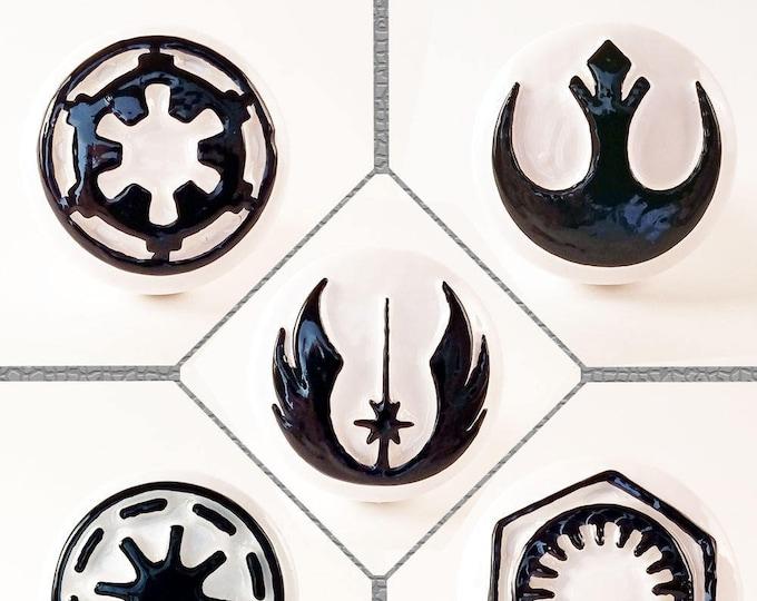 Star Wars Factions Drawer Pulls   Star Wars Furniture Pulls