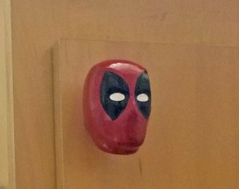 Deadpool Mask Drawer Pulls | Marvel Comics
