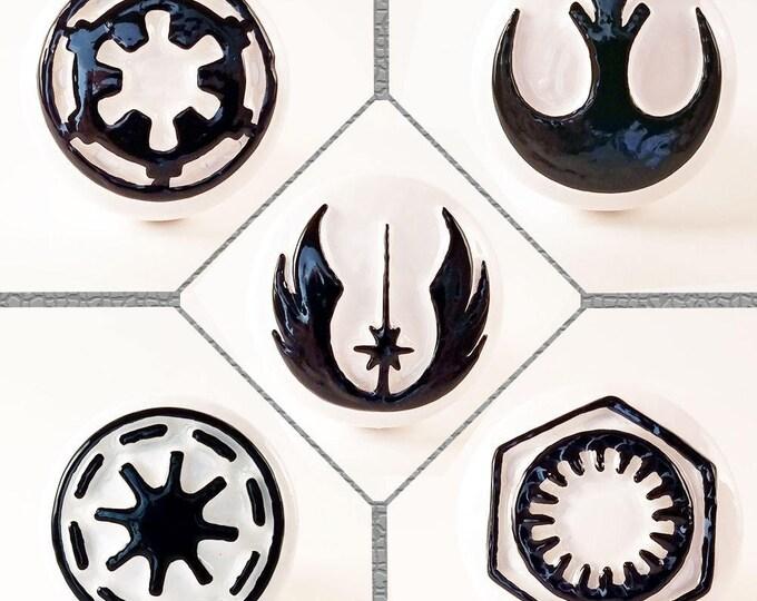 Star Wars Factions Drawer Pulls | Star Wars Furniture Pulls