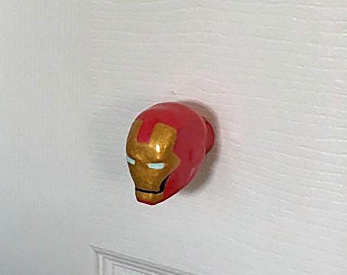 Iron Man Mask Drawer Pulls | Marvel Comics
