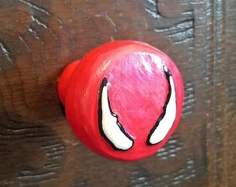 Venom Eyes Drawer Pulls   Marvel Comics