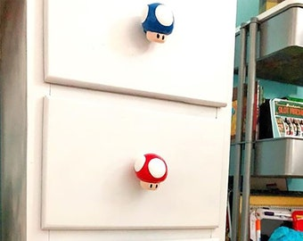 Mushroom Drawer Pulls | Super Mario Bros