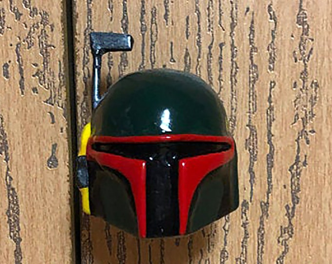 Boba Fett Helmet Drawer Pulls | Star Wars