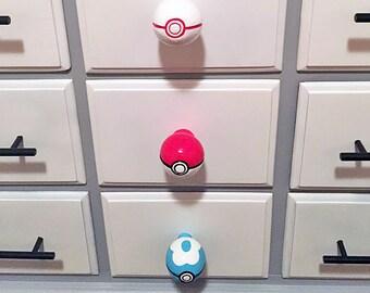 Pokeball Drawer Pulls *different styles* | Pokemon