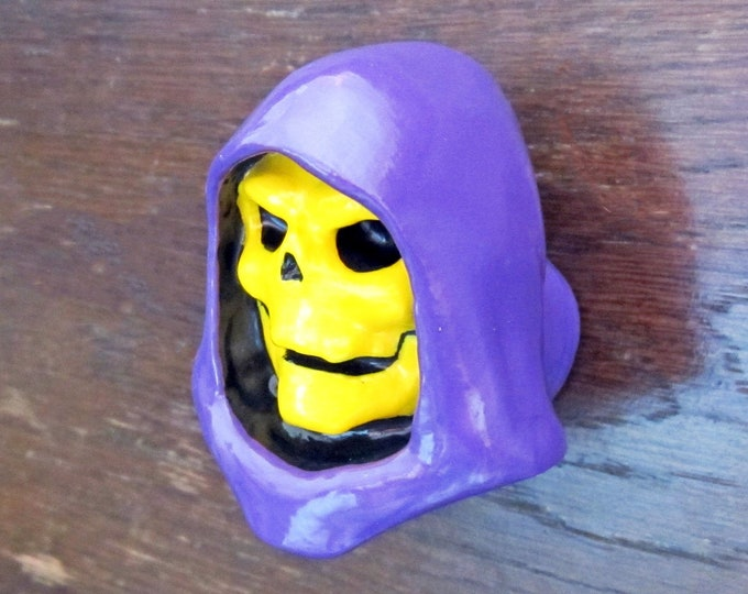 Skeletor Furniture Knob | Masters of the Universe