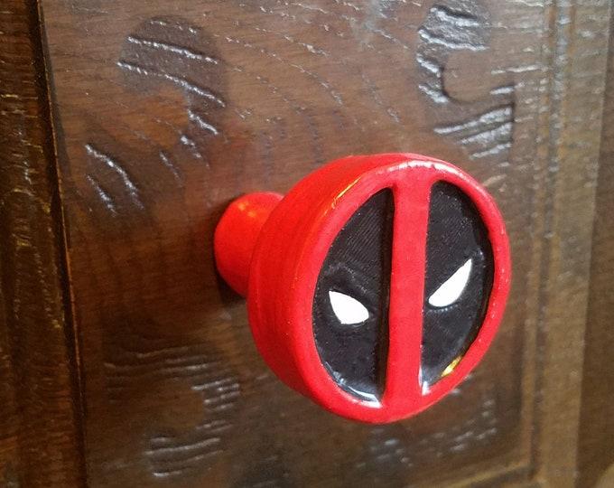 Deadpool Logo Drawer Pulls | Marvel Comics
