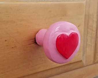 Heart Drawer Pull | Cute Knobs