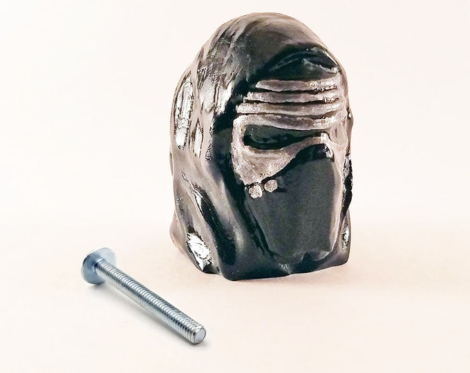 Kylo Ren Mask Drawer Pulls | Star Wars