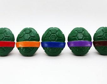 Ninja Turtle Shell Drawer Pulls   TMNT