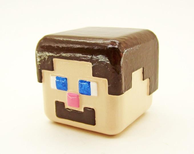 Steve Cabinet Pull   Minecraft