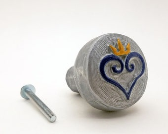 Kingdom Hearts Logo | Gaming Knobs