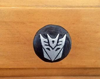 Decepticon Logo Drawer Pull | Transformers