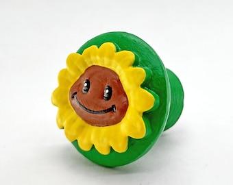 Sunflower Drawer Knob   Plants vs Zombies