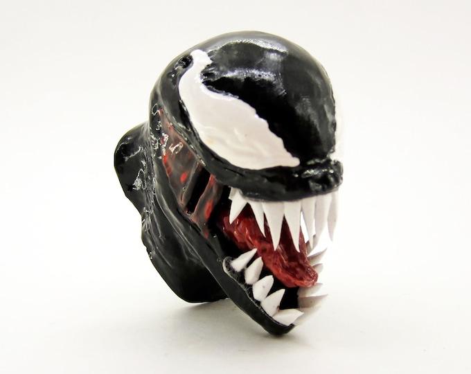Venom Furniture Pull Knob | Marvel Comics