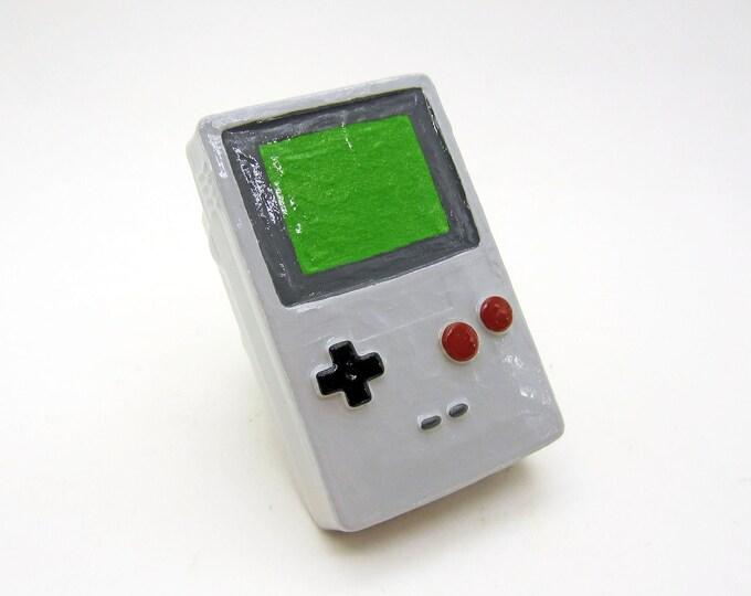 Gameboy Shaped Drawer Pulls | Retro Nintendo Video Game Decor | Gamer Furniture Knobs