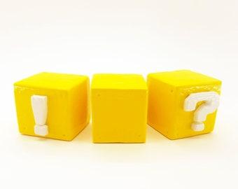 Yellow Block Pull Knob | Super Mario Bros