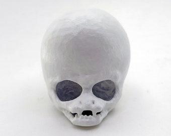 Alien Skull Drawer Knob | Gothic Decor