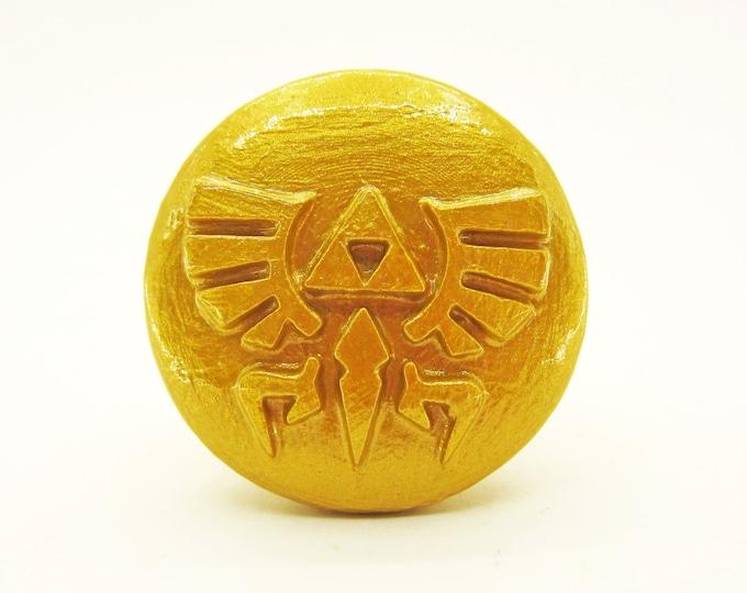 Hyrule Emblem Furniture Knob | Legend of Zelda